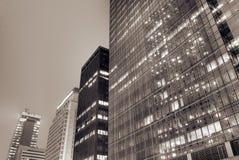 Arquitectura da cidade do exterior moderno do edifício Imagens de Stock