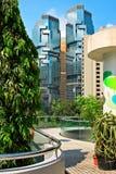 Arquitectura da cidade moderna Foto de Stock Royalty Free