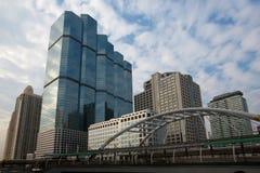 Arquitectura da cidade moderna   Imagem de Stock Royalty Free