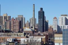 Arquitectura da cidade NYC imagens de stock