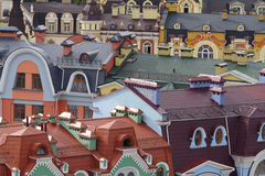 Arquitectura da cidade Oldfashioned Fotos de Stock Royalty Free