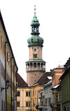 Arquitectura da cidade - Sopron, Hungria Fotos de Stock