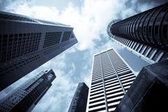 Arquitectura da cidade urbana Fotografia de Stock Royalty Free