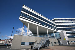 Arquitectura de Aarhus Foto de archivo
