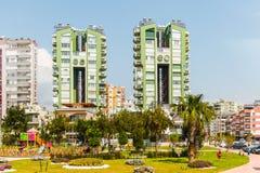 Arquitectura de Antalya, Turquía Imagen de archivo libre de regalías