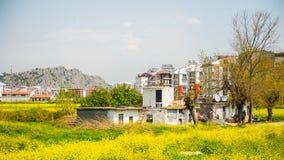 Arquitectura de Antalya, Turquía Imágenes de archivo libres de regalías