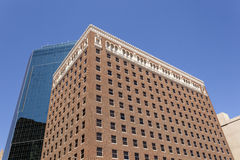 Arquitectura de Art Deco en Fort Worth, los E.E.U.U. Fotografía de archivo libre de regalías
