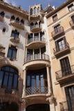 Arquitectura de Barcelona imagenes de archivo