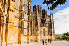 Arquitectura de Batalha, Portugal Fotografía de archivo