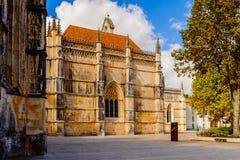 Arquitectura de Batalha, Portugal Fotos de archivo libres de regalías