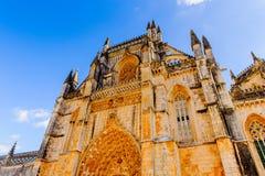 Arquitectura de Batalha, Portugal Fotos de archivo