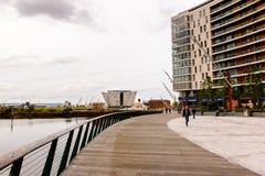 Arquitectura de Belfast, Irlanda del Norte imagenes de archivo
