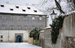 Arquitectura de Brandys nad Labem Imagen de archivo