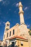 Arquitectura de Chania en la isla de Creta, Grecia fotos de archivo