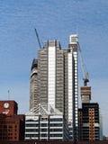 Arquitectura de Chicago, construcción del rascacielos fotos de archivo libres de regalías