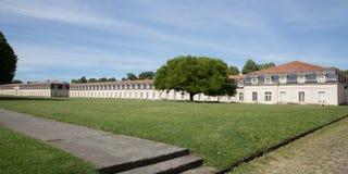 Arquitectura de Corderie Royale en la ciudad de Rochefort: La cuerda real que hace la fábrica fotos de archivo libres de regalías