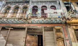 Arquitectura de Cuba Foto de archivo libre de regalías