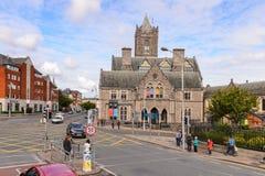Arquitectura de Dublín, Irlanda Imagen de archivo