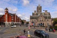 Arquitectura de Dublín, Irlanda Imagenes de archivo