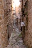Arquitectura de Dubrovnik Fotos de archivo libres de regalías