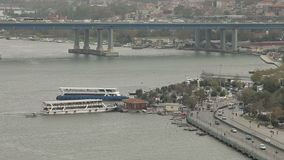 Arquitectura de Estambul almacen de metraje de vídeo
