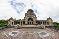 Arquitectura de Feierhalle del cementerio de Stuttgart Alemania Pragfriedhof Imagen de archivo