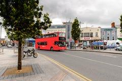 Arquitectura de Galway, Irlanda foto de archivo libre de regalías