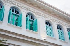 Arquitectura de Georgetown Penang Malasia Imagen de archivo libre de regalías