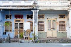 Arquitectura de Georgetown Penang Malasia Imagenes de archivo