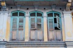 Arquitectura de Georgetown Penang Malasia Imagen de archivo