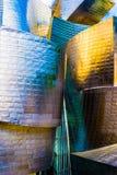 Arquitectura de Guggenheim: curvas y tejas Imagenes de archivo