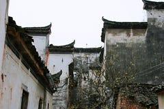 Arquitectura de Huizhou foto de archivo libre de regalías