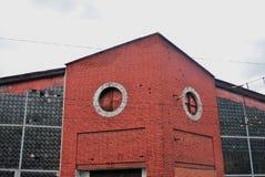 Arquitectura de Konstantin Melnikov en Moscú garage Imagen de archivo libre de regalías