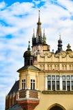 Arquitectura de Kraków, Polonia, Bazylika Mariacka foto de archivo