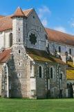 Arquitectura de la abadía francesa medieval Fotografía de archivo