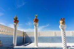 Arquitectura de la casa en Kairouan, Túnez fotografía de archivo
