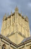 Arquitectura de la catedral de Wells Fotos de archivo libres de regalías