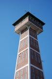 Arquitectura de la ciudad de Rybinsk, Rusia Torre de fuego Fotos de archivo