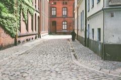 Arquitectura de la ciudad de Polonia Wroclaw fotografía de archivo libre de regalías