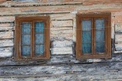 Arquitectura de la región de Turiec, Eslovaquia fotografía de archivo