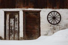 Arquitectura de la región de Turiec, Eslovaquia foto de archivo libre de regalías