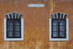 Arquitectura de la región de Turiec, Eslovaquia fotos de archivo libres de regalías