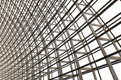 Arquitectura de la rejilla del tragaluz Fotografía de archivo