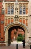 Arquitectura de la universidad de Eton imagen de archivo