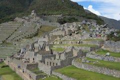 Arquitectura de Machu Picchu Imagenes de archivo