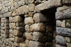 Arquitectura de Machu Picchu Foto de archivo