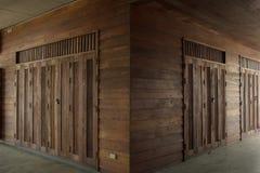 Arquitectura de madera Imagen de archivo libre de regalías