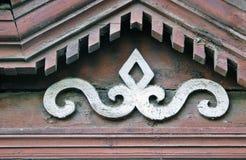 Arquitectura de madera de Kostroma, Rusia Fotos de archivo