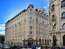 Arquitectura de Madrid, España Fotos de archivo libres de regalías