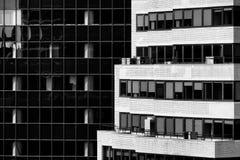 Arquitectura de Manhattan Foto de archivo libre de regalías